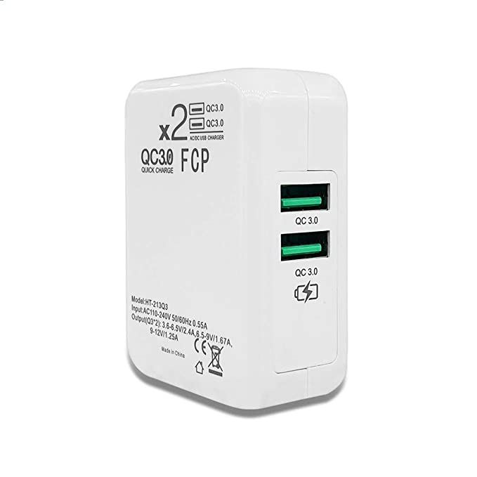 ONELY Dual Quick Charge 3.0 USB Cargador Rápido Cargador ...