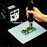 Silicone Soldering Mat,Heat Resistant 932°F Maintenance Desk Mat for BGA Soldering Station,Phone,Computer Repair,Heat Guns Insulation Platform with a Soldering Iron Tips Stand