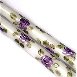 Decorative Dripless Romantic Hand Painted Flower L