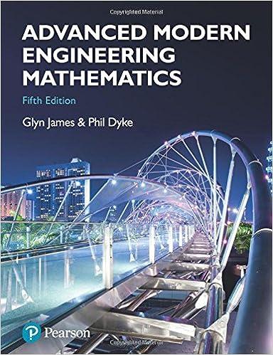modern engineering mathematics solutions manual glyn james