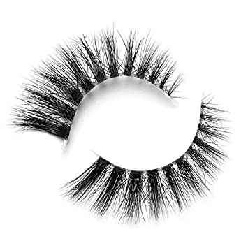 5e7619c5f9b Lilly Lashes 3D Mink Janice | False Eyelashes | Dramatic Look and Feel |  Invisible Band