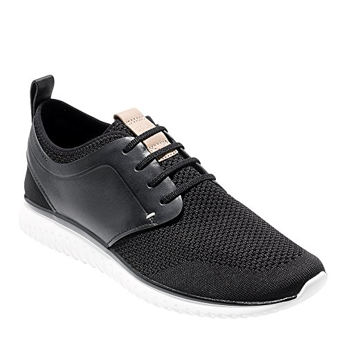 Cole Haan Men's Grand Motion Knit Sneaker, Black/Optic White, 9 Medium (Mens Grande)