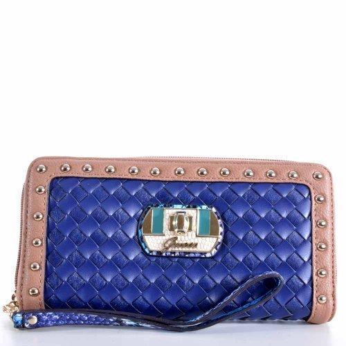 Guess cartera Kiera con 65,00 Euro SWVG4050460 azul BLM bolsa para mujer: Amazon.es: Zapatos y complementos