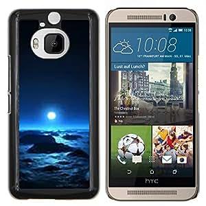 YiPhone /// Prima de resorte delgada de la cubierta del caso de Shell Armor - planeta alienígena invierno vida universo espacio - HTC One M9Plus M9+ M9 Plus