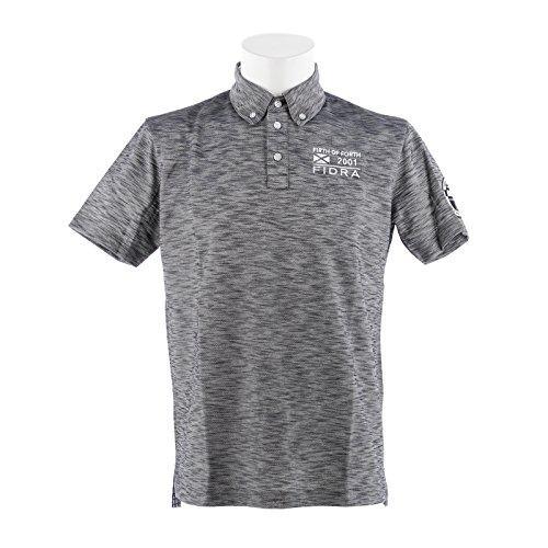 フィドラ(フィドラ) 半袖ボタンダウンポロシャツ FDA0316-NVY (グレー/M/Men's)
