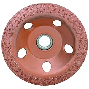diamondLife 666138 66613 4-1/2 in. 24 Grit Carbide Cup Wheel