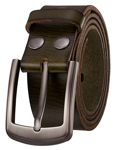 (Men's Belt by Italy First Layer of Cow Leather-1.5