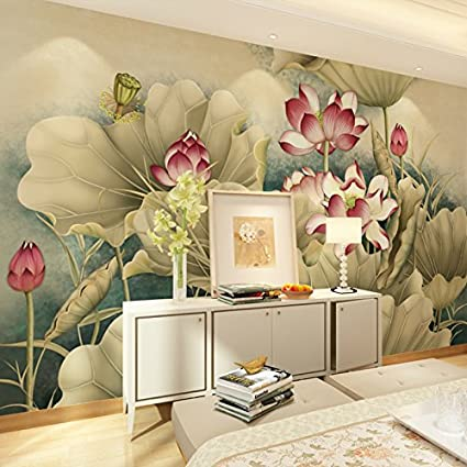Continental Tv Background Wallpaper Style Classic Non Woven