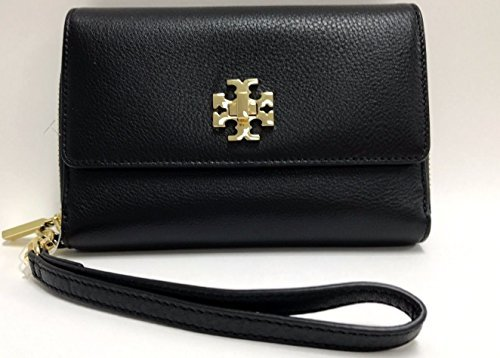Tory Burch 34036 001 Mercer Black Smartphone Bi-Fold Wristlet Wallet by Tory Burch