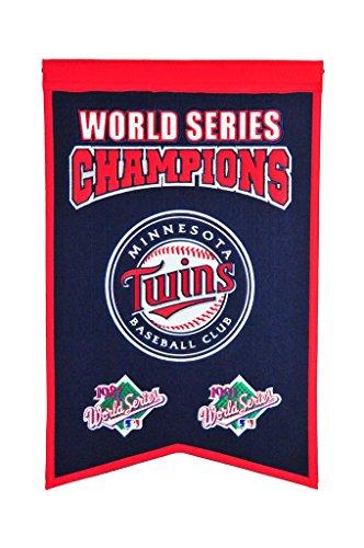 Winning Streak MLB Minnesota Twins WS Champions Banner, One Size