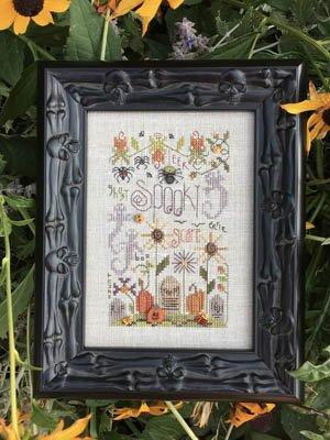 Patterns Stitch Bush Shepherds Cross - Spooky Notes Cross Stitch Chart and Free Embellishment
