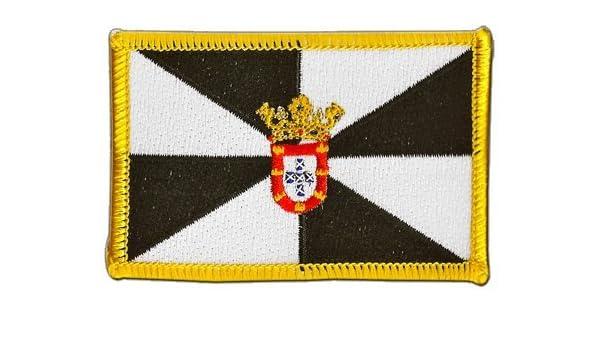 Digni Parche bordado para planchar con la bandera de España Ceuta ...