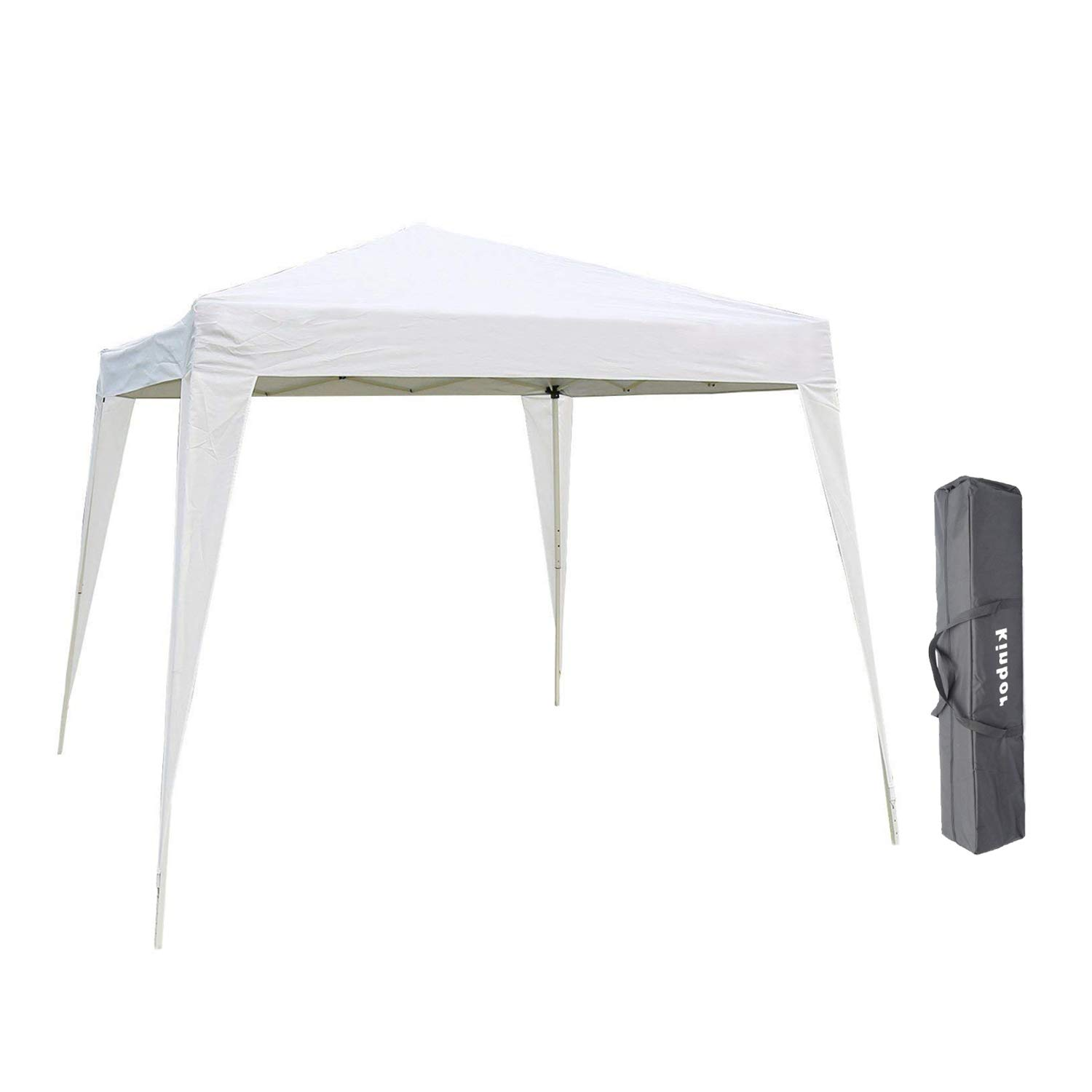 Kinbor Patio Canopy Tent, Pop Up Shelter, Portable Sports Cabana for Hiking, Camping, Fishing, Picnic, Family Outings
