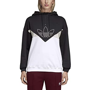 01d991c0 adidas Women's Originals CLRDO OG Hoodie Black dh3024 at Amazon ...