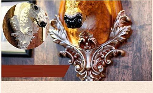 Montage mural Sculpture Murale Animal mammif/ère d/écoratif Mur Vache 3D Salle de discoth/èque IKEA Mural d/écoratif Cadeau Film Statue esth/étique Sculpture Murale Animale D/écoration Murale