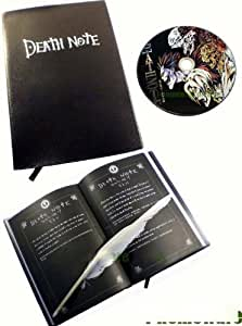 Death Note Cosplay 3 Pcs Notebook & CD & Fur Pen X 03
