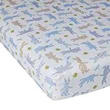 Lambs & Ivy Peter Rabbit Fitted Crib Sheet