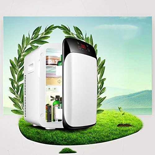 15Lデジタルデュアルコアカーミニ冷蔵庫DC 12V冷凍車を使用するミニ冷蔵庫ポータブル冷蔵庫