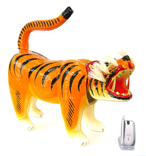 【五月人形】【L007】張子の虎10号丁寧に手作りされた張子の寅 B00O0FDZSU