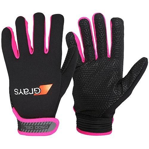 Grays G500 Gel Gloves Black/Pink ()