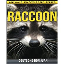 Raccoon: Beautiful Pictures & Interesting Facts Children Book About Raccoon's