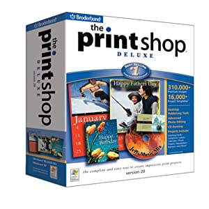 Print Shop 20 Deluxe [Old Version]