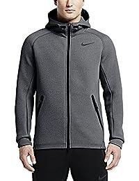 Nike Men's Therma-Sphere Max Training Hoodie Grey/Black Medium