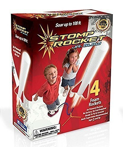 - Stomp Rocket Jr. Glow Kit (Red White)