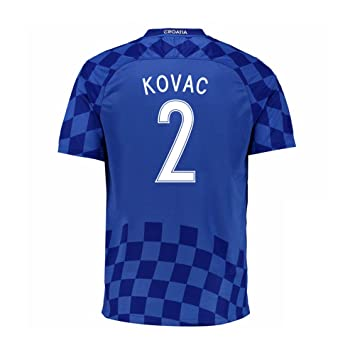 Nike 2016 – 2017 Croacia Away Camiseta de fútbol Kovacic 8 Talla:M/Contorno