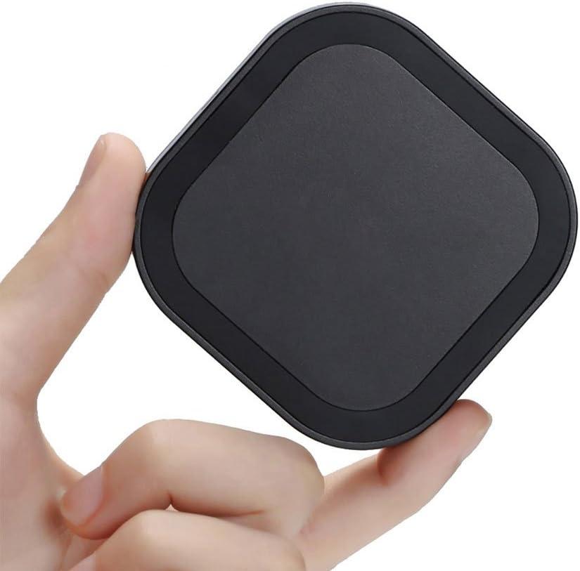 Qi 充電器 急速 ワイヤレス充電器 Qi 認証 iPhone 12 / 11 /SE/Galaxy 対応 7.5W 出力 ブラック