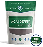 Best Acai Berries - Nature Restore Wild Harvested Acai Berry Powder, Review