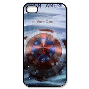 Captain America Design Hard Case High-quality Custom Cases for Sumsung Galaxy S4 I9500S (PC)