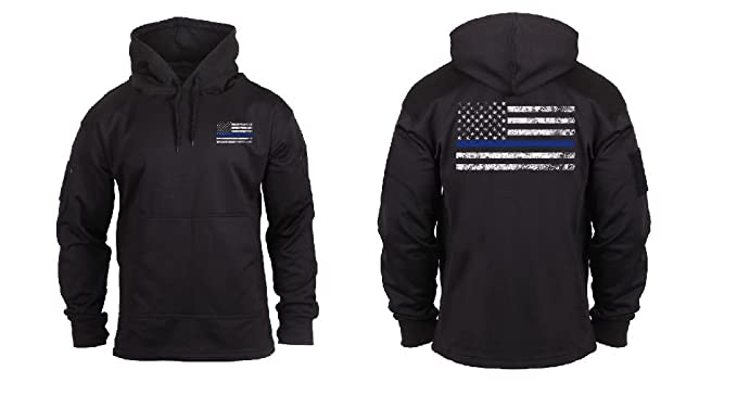Amazon.com  Black Thin Blue Line Concealed Carry Sweatshirt Hoodie ... a228fe81f36
