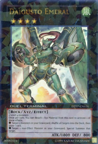 Yugioh Dt07-en036 Daigusto Emeral (Ultra; Parallel) for sale  Delivered anywhere in USA