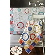 Swirly Girls Baby or Lap Quilt Sewing Pattern Ring Toss SGD026