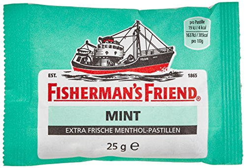 Fisherman's Friend Mint mit Zucker - Hustenbonbons, 1er Pack (1 x 1 kg)