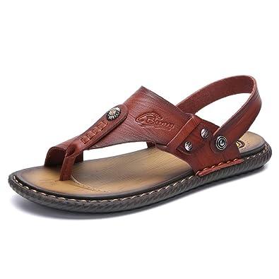 herren sandalen leder riemen