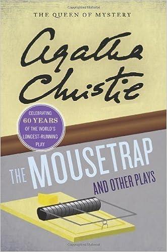 Téléchargements gratuits de livres électroniques français The Mousetrap and Other Plays (Agatha Christie Mysteries Collection) by Christie, Agatha (2012) Paperback B00M0IR8DM in French PDF RTF