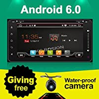 With Backup camera!!!Wifi Model 6.95 Android 6.0 Quad-Core Car DVD Stereo for Toyota Car Support 3G Wifi Hotspots/ Bluetooth/Subwoofer/ Mirror Link/SD Card/USB/OBD2