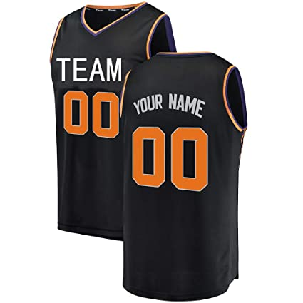 best service c5060 b44bd Amazon.com: APATHA Custom Phoenix Basketball Jersey for Men ...
