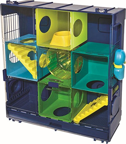 Ware Manufacturing 3-Wall Unit Critter Universe Small Pet...