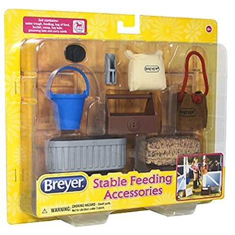 Breyer Classics Stable Feeding Horse Accessories Set - Feeding Accessori