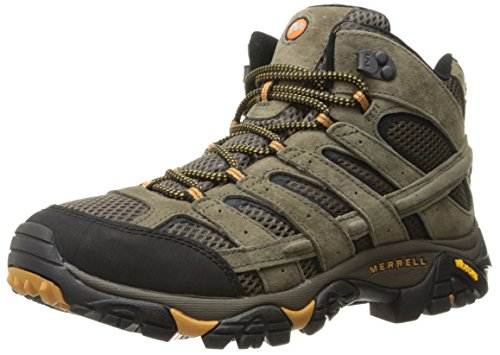 Merrell Men's Moab 2 Vent Mid Hiking Boot, Walnut, 10.5 2E US (Walk A Mile In Your Neighbors Shoes)