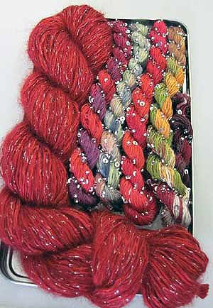 Artyarns Shawl for All Seasons Kit (Knit/Crochet) (Red ()