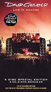 david gilmour live in gdansk 5 disc limited edition 3cd 2 dvd set music. Black Bedroom Furniture Sets. Home Design Ideas