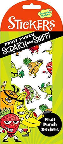 Peaceable Kingdom Scratch and Sniff Fruit Punch Scented Sticker (Fruits Basket Sticker Collection)