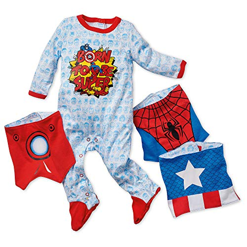 Marvel Marvel Gift Set for Baby Size 0-3 MO Multi]()