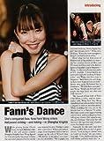 Fann Wong Clipping Magazine photo orig 1pg 8x10 M5411