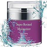 Super Retinol Anti-Aging Moisturizer – Reduces Wrinkles, Fine Lines, Promotes Youthful Glow – With 2.5% Retinol, Vitamin E & B5 - Perccei – 1. oz