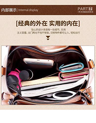 e tracolla portamonete unica per giallo Rosa Portafogli a Gby borse moda Borse colore taglia q7twTWI0E